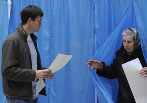 ПР и оппозиция предлагают разные даты проведения выборов в Киеве и пяти проблемных округах