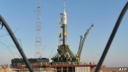 Союз готовится отправить космонавтов на МКС