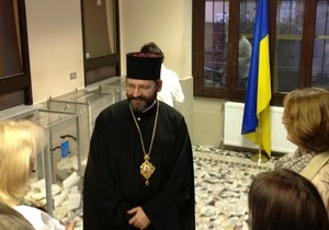 Глава украинских греко-католиков проголосовал в Риме
