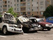 В Москве сожгли еще пять автомобилей