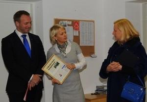 Министр Торговли Швеции Ева Бйорлинг встретилась в Киеве с основателями компаний Clarus Eastern Europe и Stella100