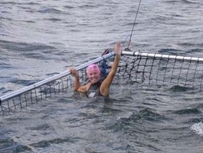 56-летняя американка переплыла Атлантический океан