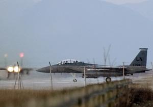 На Сицилии при посадке разбился принадлежавший ОАЭ F-16
