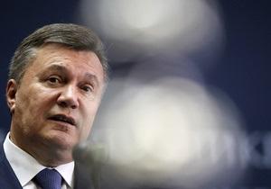 Украина-ЕС - ЗСТ с Украиной поможет ЕС вырваться из затянувшегося кризиса - Янукович