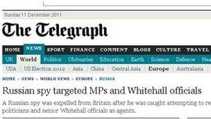 Пресса Британии называет имя  русского шпиона