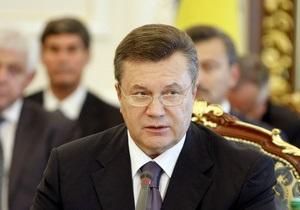 Зона свободной торговли: Янукович раскритиковал предлагаемые Евросоюзом условия
