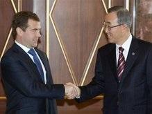Медведев считает, что разговоры о кризисе ООН - безосновательны
