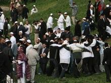 Тысячи хасидов в Умани встретили новый, 5769-й год