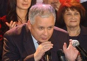 Качиньский: Я тоже поеду в Катынь. Надеюсь, что получу российскую визу