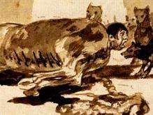 Найдены утерянные 130 лет назад рисунки Гойи
