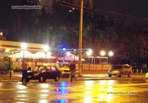 В Киеве таксист сбил женщину