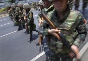 Власти Таиланда признали, что военные стреляют в демонстрантов боевыми патронами