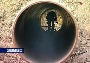 В Луганской области нашли трубопровод для перекачки контрабандного топлива из России