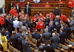 Рада - Верховная Рада - оппозиция - Яценюк прогнозирует, что на следующей неделе Рада может быть разблокирована силой