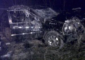 В США джип с подростками упал в болото, погибли шесть человек
