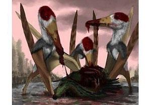 Ученые пришли к выводу, что птерозавры были падальщиками