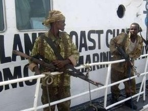 ЕС проведет военную операцию против сомалийских пиратов
