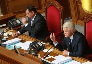 Литвин призвал  не возбуждать  общество языковым вопросом