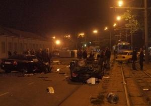 В Одессе в результате столкновения пяти авто госпитализировали восемь человек