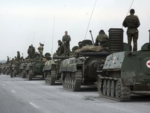 AFP: Российские танки идут на Тбилиси. Россия все отрицает