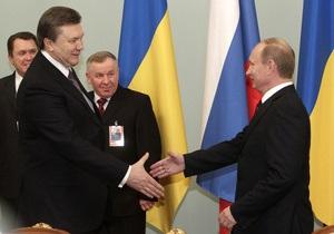 Янукович пообещал Путину навести порядок в прямом и переносном смысле