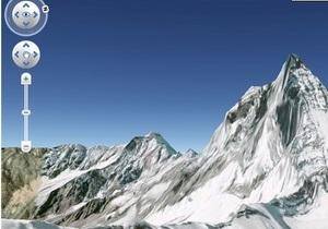 В обновленном сервисе Google Earth появились 3D-деревья