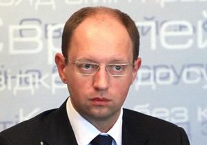Яценюк: Арест Тимошенко будет означать начало политической войны