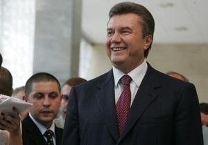Янукович уверен, что Украина может стать одним из лидеров посткризисного мира