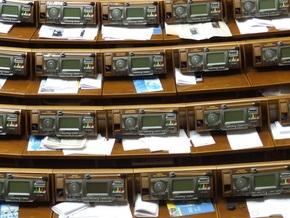 Рада приняла повестку дня четвертой сессии