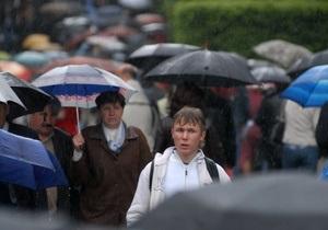 Завтра по всей Украине ожидаются дожди