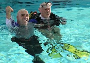 У переплывшего Ла-Манш француза без рук и ног угнали инвалидное кресло