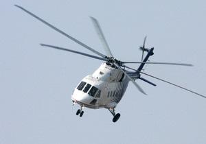 СМИ: Под Днепропетровском разбился вертолет, четыре человека погибли