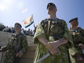 МВД посоветовало ЧФ разъяснить морякам порядок пребывания в Украине