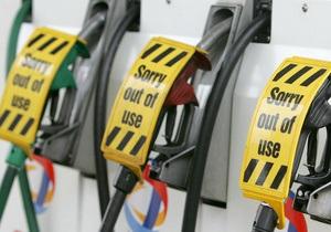 Украина за полгода сократила производство бензина на треть