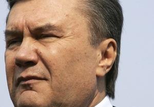Янукович назначил новых глав райадминистраций Киева