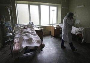 Число жертв гриппа и ОРВИ в Украине увеличилось до 882 человек