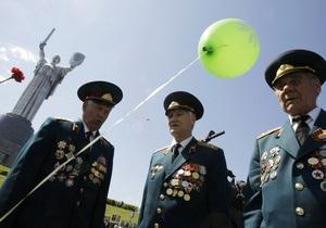 Заявки на празднование Дня Победы в Киеве подали девять партий и организаций