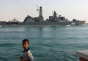 Минобороны России: корабли ВМФ могут зайти в Сирию