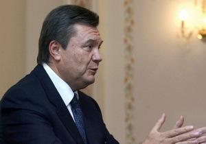 Янукович обсудил с Поповым проблемы столицы