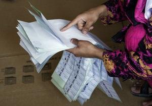 На выборах в Афганистане почти четверть бюлетней были сфальсифицированы