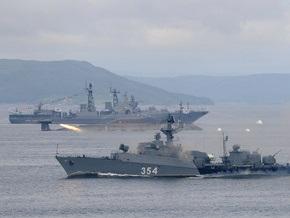 Черноморский флот РФ начал тактические учения