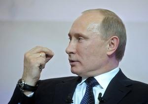 Путин: Позиция России по поводу Сирии не изменится