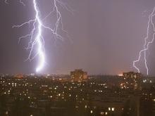 В Киеве человека убило молнией