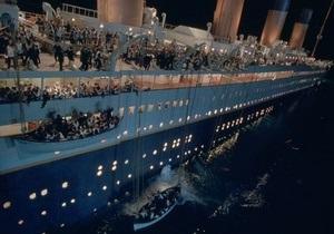 Титаник 3D занял первое место в российском прокате