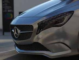 Mercedes-Benz A-class Concept - акцент №1  Автоцентра на Московском
