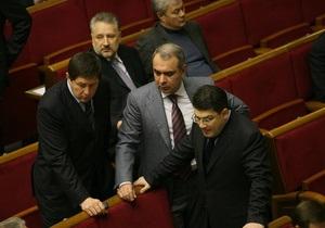 Шесть депутатов от НУ-НС вошли в коалицию