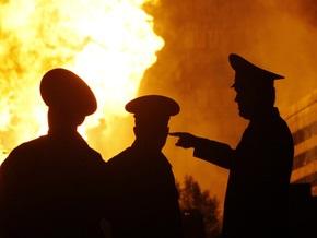 В Киеве в частном доме из-за взрыва газового баллона погиб человек