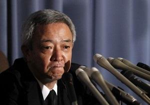 Министр восстановления Японии подал в отставку
