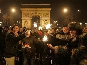 Во Франции в новогоднюю ночь сгорело более тысячи автомобилей
