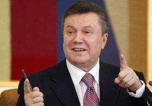 Янукович: Украина приветствует усиление роли Китая в мире